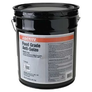 Loctite 1170163 Food Grade Anti-seize- Metal-free- 40 Lb Net Wt by Loctite