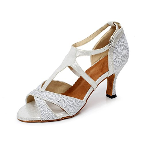 Latino Salsa Bcln Tacchi Scarpe Sandali Tango Donna Pratica Open Toe 6v7gfyYb