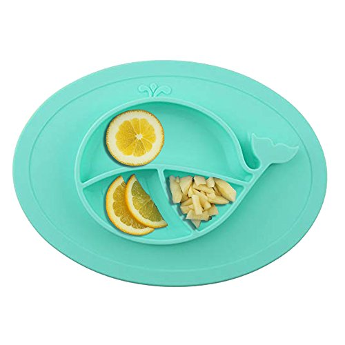 - Oval Silicone Placemat For Food, Silicone Mini Mat - Children's Placemat, Suitable For Baby Toddlers, Microwave & Dishwasher Friendly, Made With Food Grade Silicone, Safety Assured