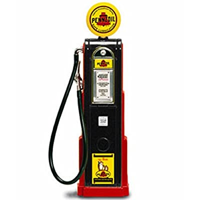 Digital Gas Pump Pennzoil, Black - Yatming 98791 - 1/18 scale diecast model: Toys & Games