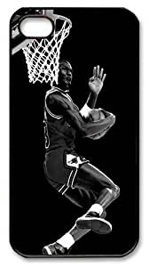 icasepersonalized Personalized Protective Case for iPhone 4/4S - Michael Jordan, NBA Chicago Bulls