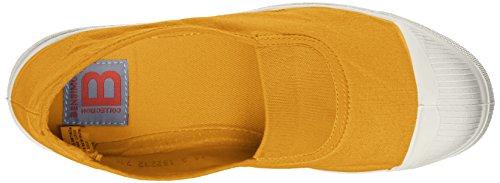 Jaune Yellow Slip Tennis Bensimon On Elastique Damen xYpAwB4q
