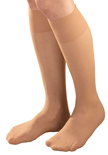 Diabetic Sheer Knee Highs Pair