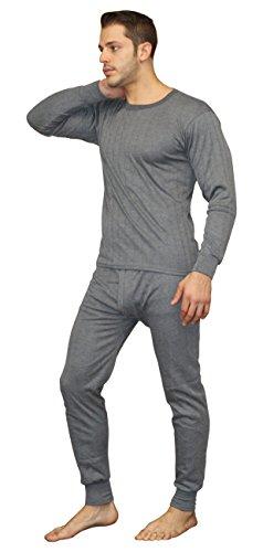 Men's Soft 100% Cotton Thermal Underwear Long Johns Sets - Waffle - Fleece Lined (Medium, Fleece Lined - - Thermal Underwear Cotton