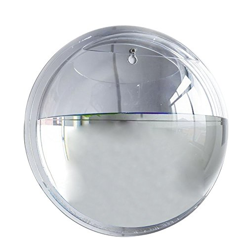 15cm diameter clear mini acrylic round wall mount fish for Acrylic fish bowl