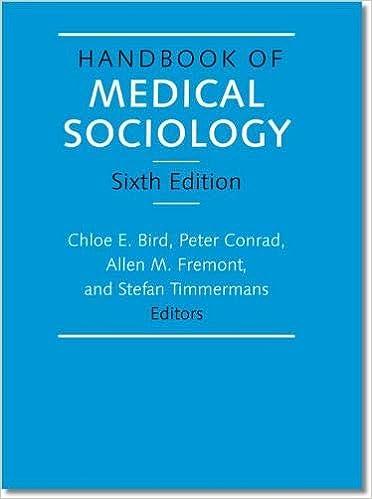 745e5e568fff Handbook of Medical Sociology  Amazon.co.uk  Chloe E Bird ...