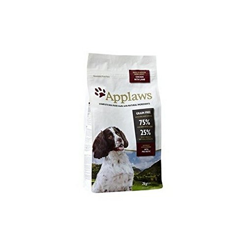 Applaws Dry Dog Food Chicken with Lamb Small and Medium Bree