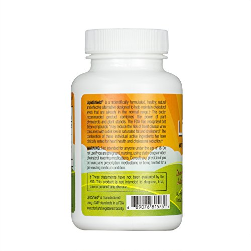 New Health Lipidshield Plus - 60 Caplets - Healthy & Natural Cholesterol Alternative - Herbal Dietary Supplement by New Health (Image #2)