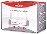 Intellinet Wireless 300N Access Point with 2 x 3dBi Detachable Dipole Antennas (524728)