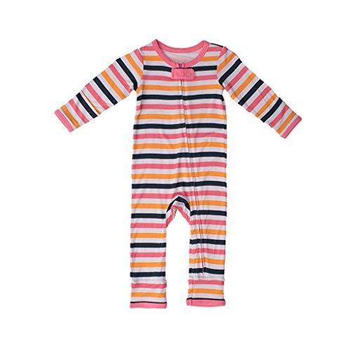Kozi & Co.. Girls Toddler Romper Coverall Girl Adventure Stripe 3T for $<!--$32.99-->