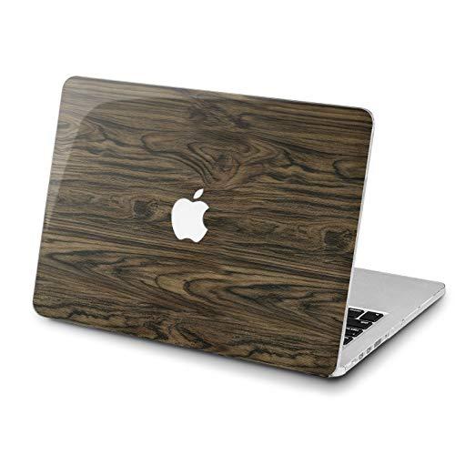 Lex Altern Newest MacBook Mac 15 Pro Air 13 inch 11 12 2018 Brown Wooden Board Case A1989 A1708 Unique Natural Realistic 2017 Retina Elegant Cover Women Hard Shell Apple 2017 2016 Touch Bar Print Top -