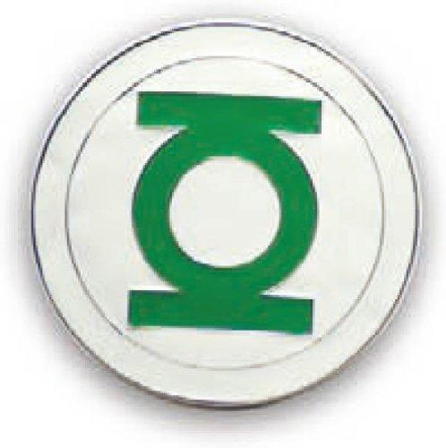 Official 3D GREEN LANTERN Belt Buckle cut out Logo (Cut Out Logo Buckle Belt)