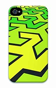 Hot For Iphone 4/4S Case Cover 3D Diy Print Abstract Green New Fashion For Iphone 4/4S Case Cover