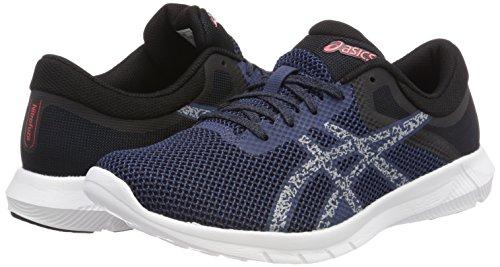 Nitrofuze De Blu Bluemid Course 2 dark 4996 Hommes Greycoralicious Pour Chaussures Asics UgxwCTUtq