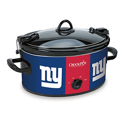 Crock-Pot New York Giants NFL 6-Quart Cook & Carry Slow Cooker