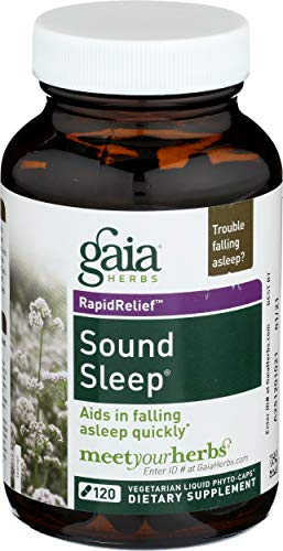 (Gaia Herbs - Sound Sleep Liquid Phyto-Caps - 120 Liquid-Filled Capsul ()