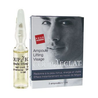 COUP D'ECLAT The Facial Lifting and Energizing Vials for Men (Coup ? Men)