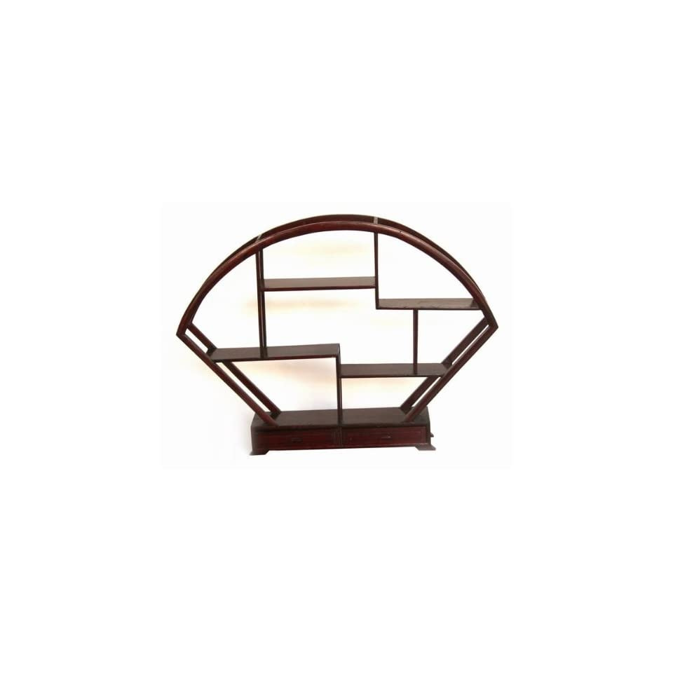 Handcraft Table Top Rosewood Display Rack DIS004