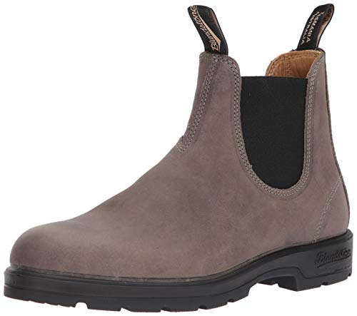 Blundstone Unisex Leather Lined Pull-On Boot Steel Grey 6 M US Women / 4.5 M US Men