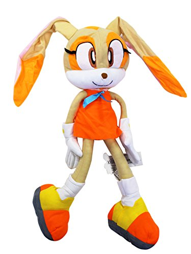 Sonic the Hedgehog's Cream the Rabbit Dangling Arms/Legs Stuffed Toy (18in)