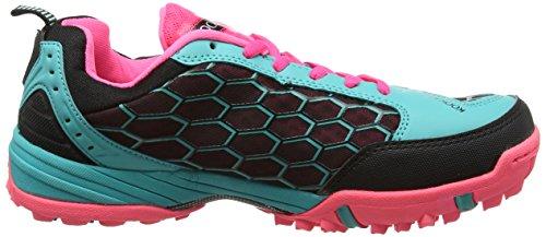 Kookaburra litio zapato calzado de Hockey sobre lago Green/Pink