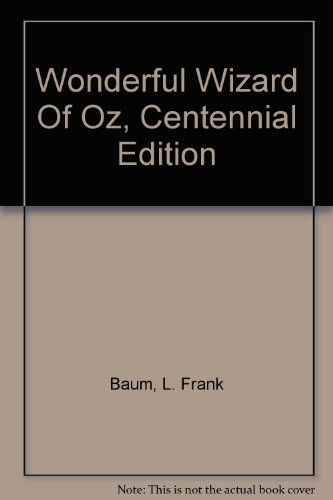 wizard of oz centennial edition - 6