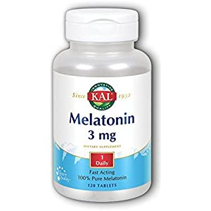 Kal 3 Mg Melatonin, 120 Count