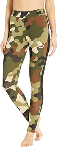Puma Stretch Leggings - PUMA Women's Wild Pack T7 Leggings Forest Night Medium 28