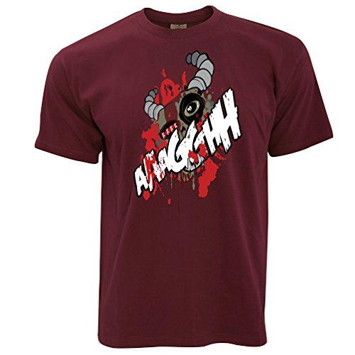 Ogre Face Halloween Chestburster Cartoon Monster Zombie Scary Mens (Club M Del Mar Halloween)