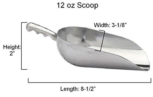 [12oz Aluminum Metal Scoops Ice] (Pumpkin Outline Printable)