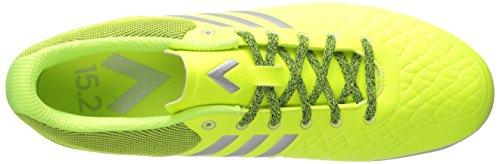 Scarpa Da Calcio Adidas Performance Mens Asso 15.2 Cg Solare Giallo / Argento Metallizzato / Grigio Chiaro S12
