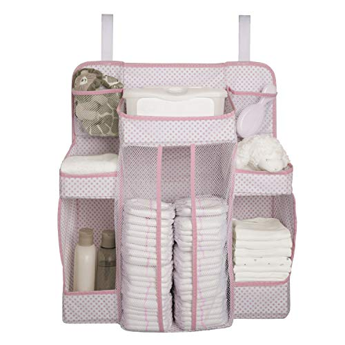 Best Review Of Delta Children Universal Hanging Organizer for Changing Tables | Diaper Caddy | Nurse...