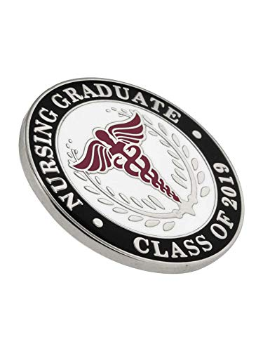 PinMart Class of 2019 Nursing Graduate Pin for Pinning Ceremony Lapel Pin by PinMart (Image #1)