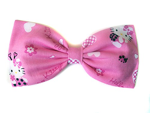 Hello Kitty Collection-hair Bows for Girls, Teens, Gifts for Her. (Lady Bugs Kitty, Barrette) (Ladybug Mod)