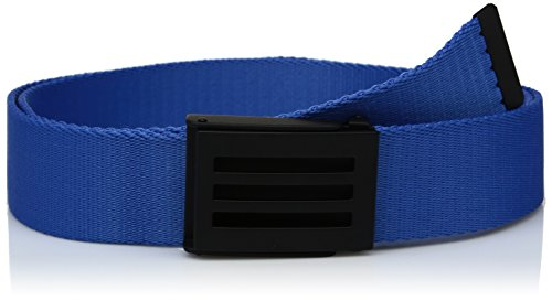 adidas Golf Men's Webbing Belt, Blast Blue, One Size (Belt Taylormade Golf)