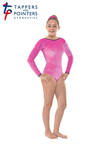 Girls Sleeveless Gymnastic Leotards Tappers /& Pointers Gym//41