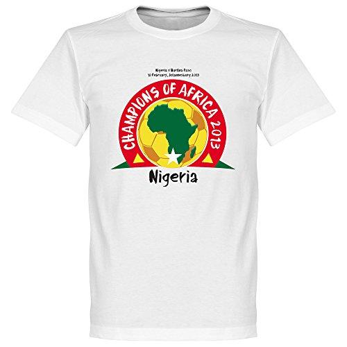 Nigeria Champions d'Afrique 2013T-Shirt–Blanc