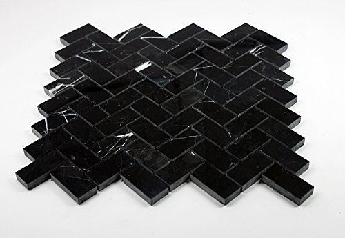 nero-marquina-black-marble-herringbone-mosaic-tile-1-x-2-polished