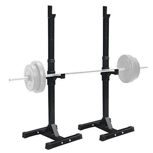 F2C-Pair-of-Adjustable-Rack-Sturdy-Steel-Squat-Barbell-Free-Bench-Press-Stands-GYMHome-Gym-Portable-Dumbbell-Racks-Stand-one-pairtwo-pcs