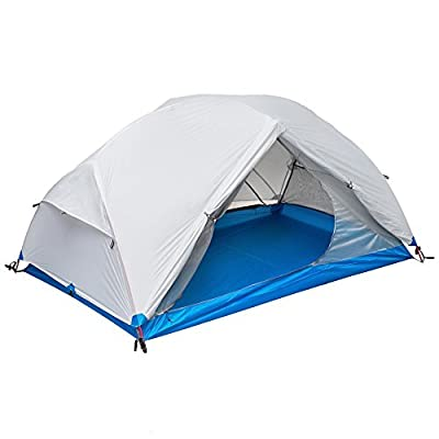 Zion 2P Two Person Lightweight Tent and Footprint - Perfect for Backpacking, Kayaking, Camping and Bikepacking