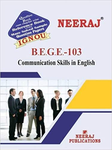 Buy BEGE103-Communation Skills in English (IGNOU help book