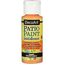 DecoArt Patio Paint 2-Ounce Pumpkin Acrylic Paint