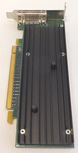 HP 456137-001 PCIe x16 NVIDIA Quadro NVS 290 256MB dual-head dual 400MHz RAMDACs graphics card With low profile bracket