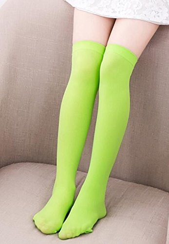 09f9205fa Image Unavailable. Women Cable Knit Extra Long Boot Socks Over Knee Thigh  High School Girl ...