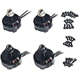 Wolfwhoop 4pcs RS2205 2300KV Brushless Motor for QAV250 QAV300 FPV Racing Quadcopter (2CW 2CCW)