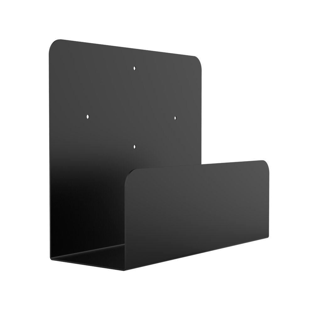 Oeveo Side Mount 143-10H x 4.5W x 12D   Computer Wall Mount for SFF Desktop Computers from HP, Lenovo, Dell, Acer, and More   SCM-143