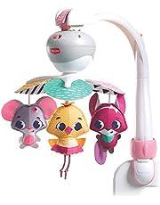 Tiny Love Baby-Mobile, Take Along muziekmobiel voor onderweg en thuis, baby-speeldoos vanaf de geboorte (0M+) kan eenvoudig aan babyschaal en kinderwagen worden bevestigd.