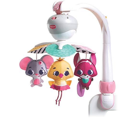 Tiny Love Mobiel Take Along, Baby Mobiel en Kinderwagenspeeltje Muziek, Geschikt vanaf de Geboorte, 0m +, 5 Melodieën…