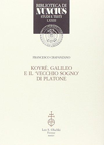 Koyré, Galileo e il vecchio sogno di Platone.