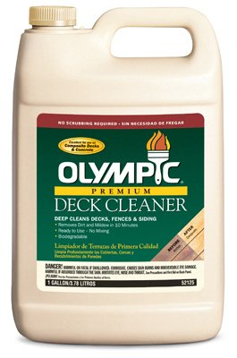 OLYMPIC/PPG ARCHITECTURAL FIN FBA_52125A/01 GAL LIQ Deck Cleaner